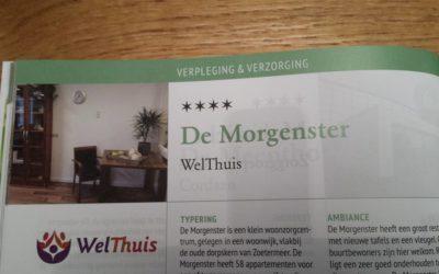 WelThuis De Morgenster beloond voor gastvrijheid