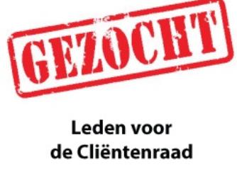 De lokale cliëntenraad van Wilgenhoven in Stolwijk zoekt nieuwe leden!