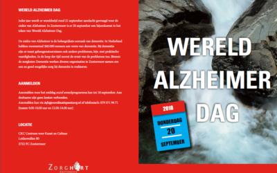 Bijeenkomst Wereld Alzheimerdag Zoetermeer