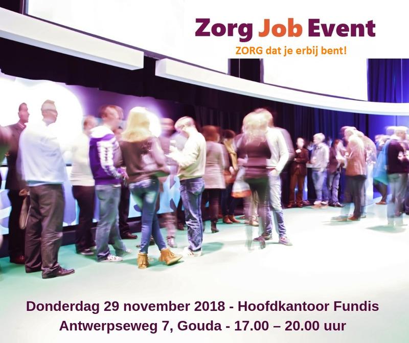 Zorg Job Event – ZORG dat je erbij bent!!